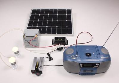 Solar Powered Radio System